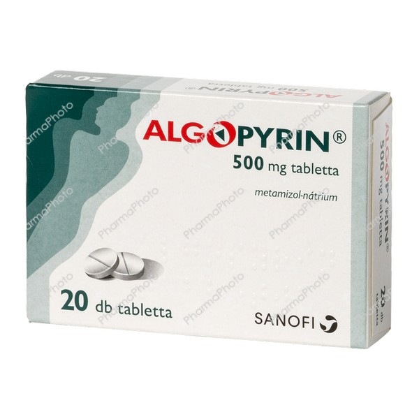 Algopyrin 500 mg tabletta 20x446574 2020 tn